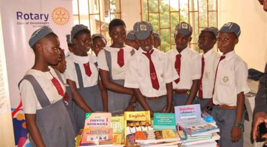 Donation of Textbooks to Junior Secondary School