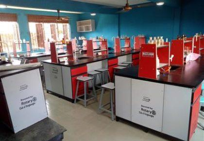 Donation of Ultra Modern Chemistry Laboratory.