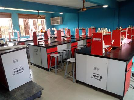 Donation of Ultra Modern Chemistry Laboratory.