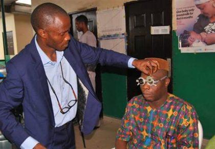 Eyes Screening, Donation of Eye Glasses And Drugs