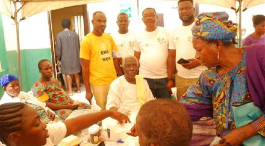 Rotary Family Health Days.