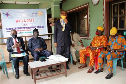 Empowerment -Micro Credit Scheme at Onigbongbo